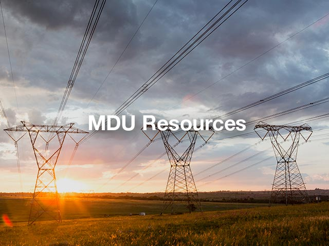 MDU Resourses Case Study